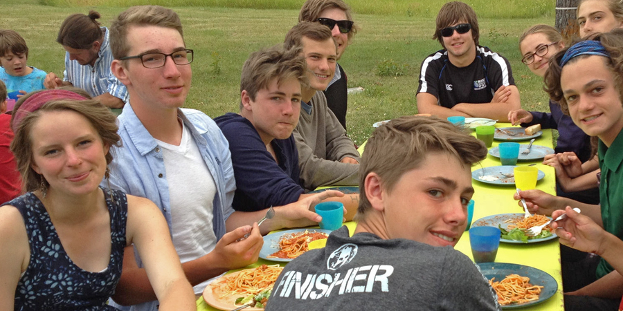 Educo Adventure School, 100 Mile, BC: Leadership
