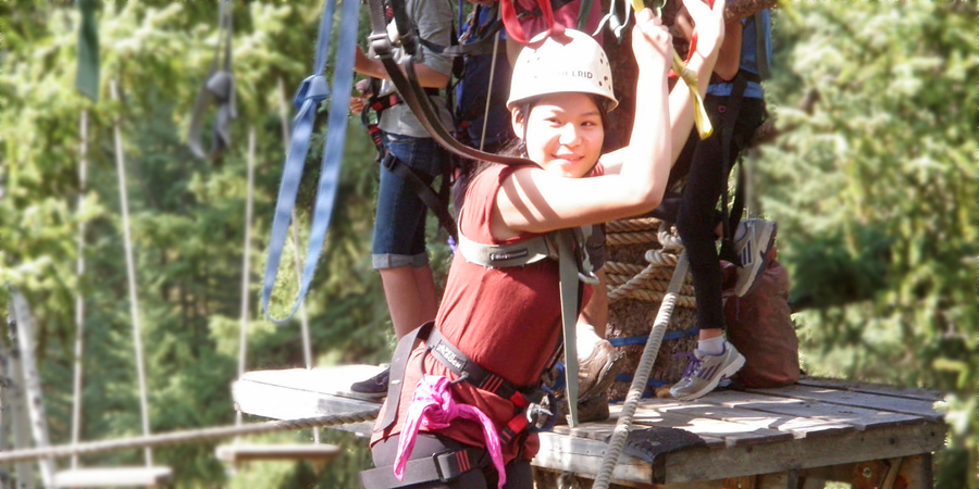 Educo Adventure School, 100 Mile, BC: Senior Girls